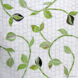 Custom Tile Pattern: Stems & Leaves #3