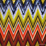 Custom Tile Pattern: ZigZag (Yellow, Orange, Acapulco Purple)