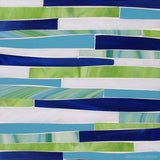Custom Tile Pattern: Blue/green Offset Grass