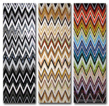 Custom Tile Pattern: 3-Big Zig-Zags