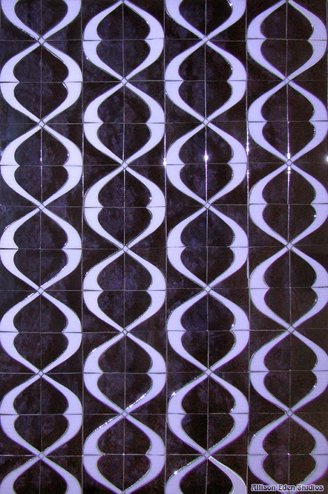 Custom Tile Pattern: Prince Ultra Violet Smoke