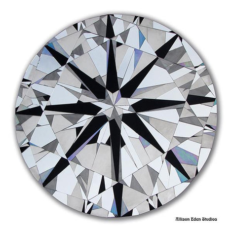 Round Diamond Gem