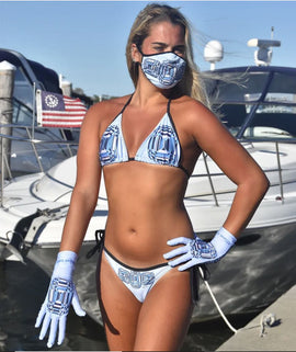 Quattrokini (Bikini, Gloves, Mask)