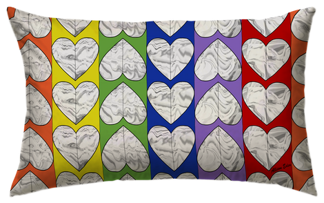 "Amore Pillow- ( 12"" X 18"")"