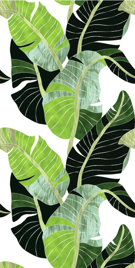 Banana Leaf Palm Fabric