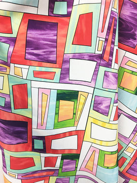 Complex Cubes Fabric