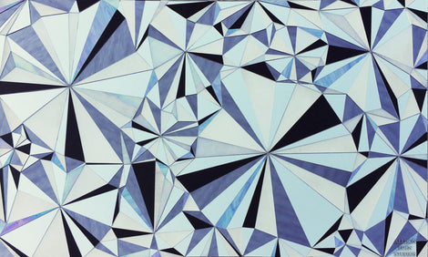 Custom Tile Pattern: Diamonds