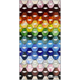 Rainbow Smiles Bath Towel