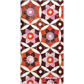 Red/Orange/Pink Moroccan Lg. Bath Towel