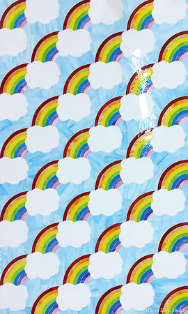 Custom Tile Pattern: Somewhere Over the Rainbow