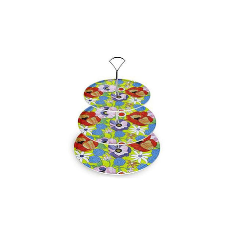Spring Meadow Floral Cake Stand