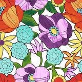 Spring Meadow Floral Fabric