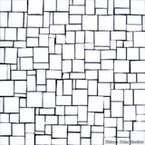 Custom Tile Pattern: White Mini Block