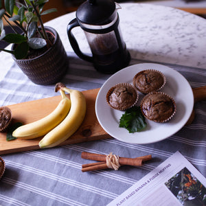Banana & Coconut Fudge Muffin Plant-Based Baking Gift Box