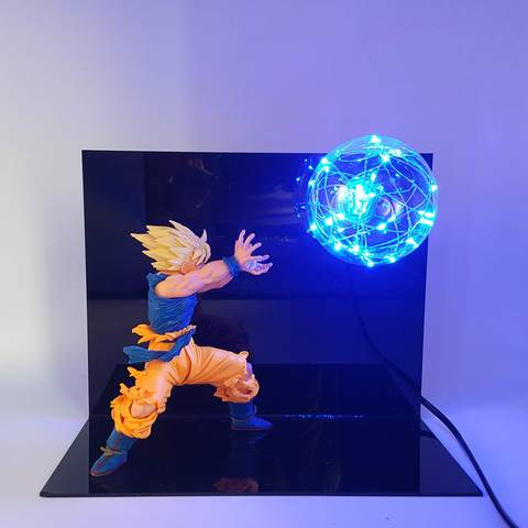 Dragon ball Z Goku Kamehameha Wave Led Lamp