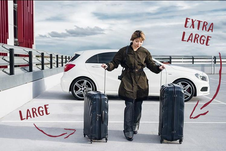Suitcase Size Guide | What's the biggest suitcase available?