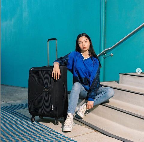American Tourister Curio SS - Top 10 Lightest Suitcases