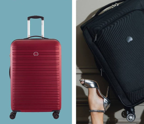 Which is better hard vs soft suitcases