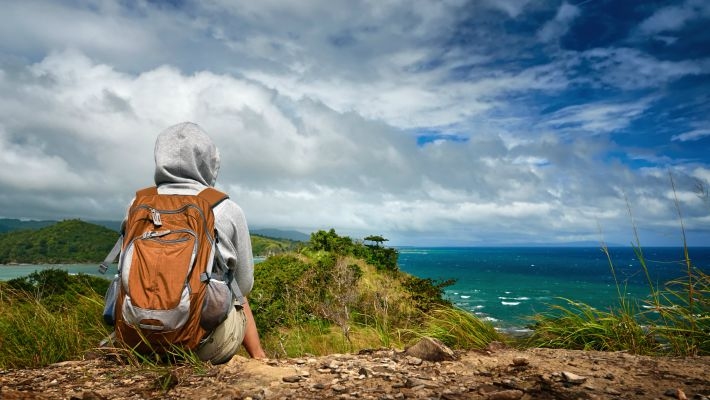 solo woman traveller