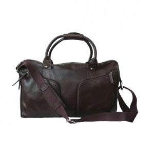 Hidesign Jacob Leather Overnight Bag