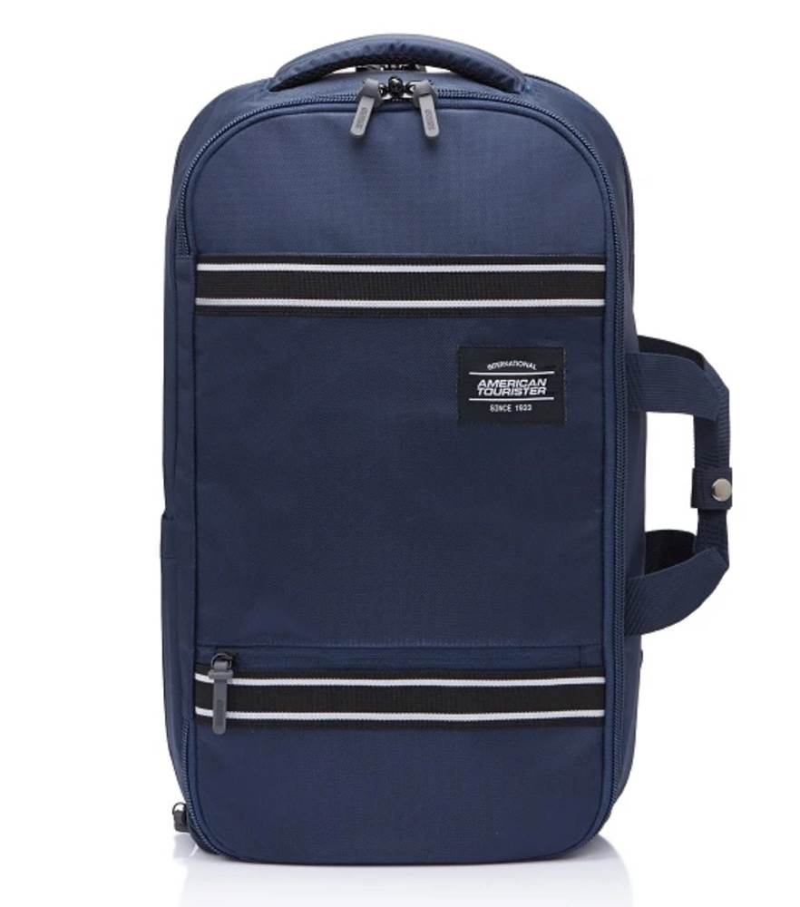 American Tourister Aston Travel Backpack-Navy