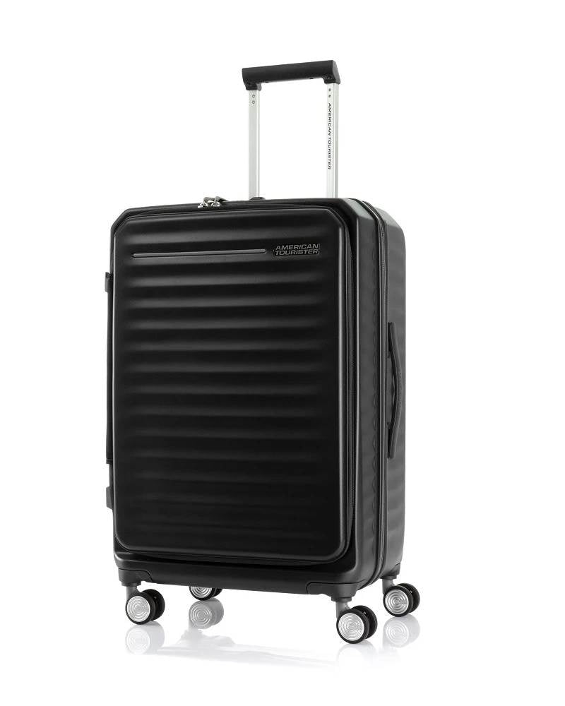 American Tourister - Frontec Expandable 68cm Medium 4 Wheel Hard Suitcase