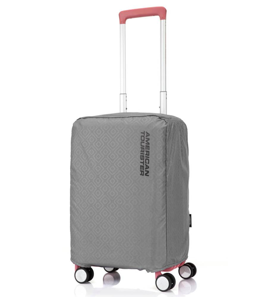 American Tourister Antimicrobial Luggage Cover - Small 50 - 55 - Grey