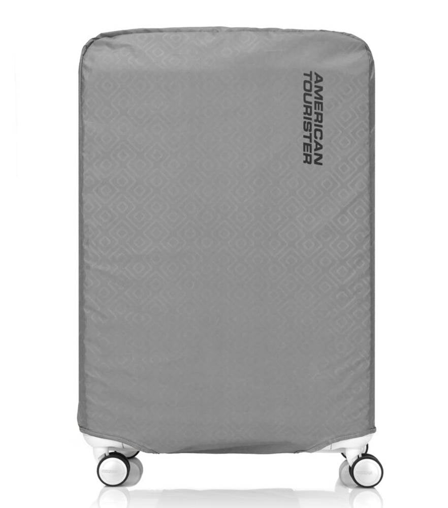 American Tourister Antimicrobial Luggage Cover - X-Large (Fits 78 - 81 cm Cases) - Grey