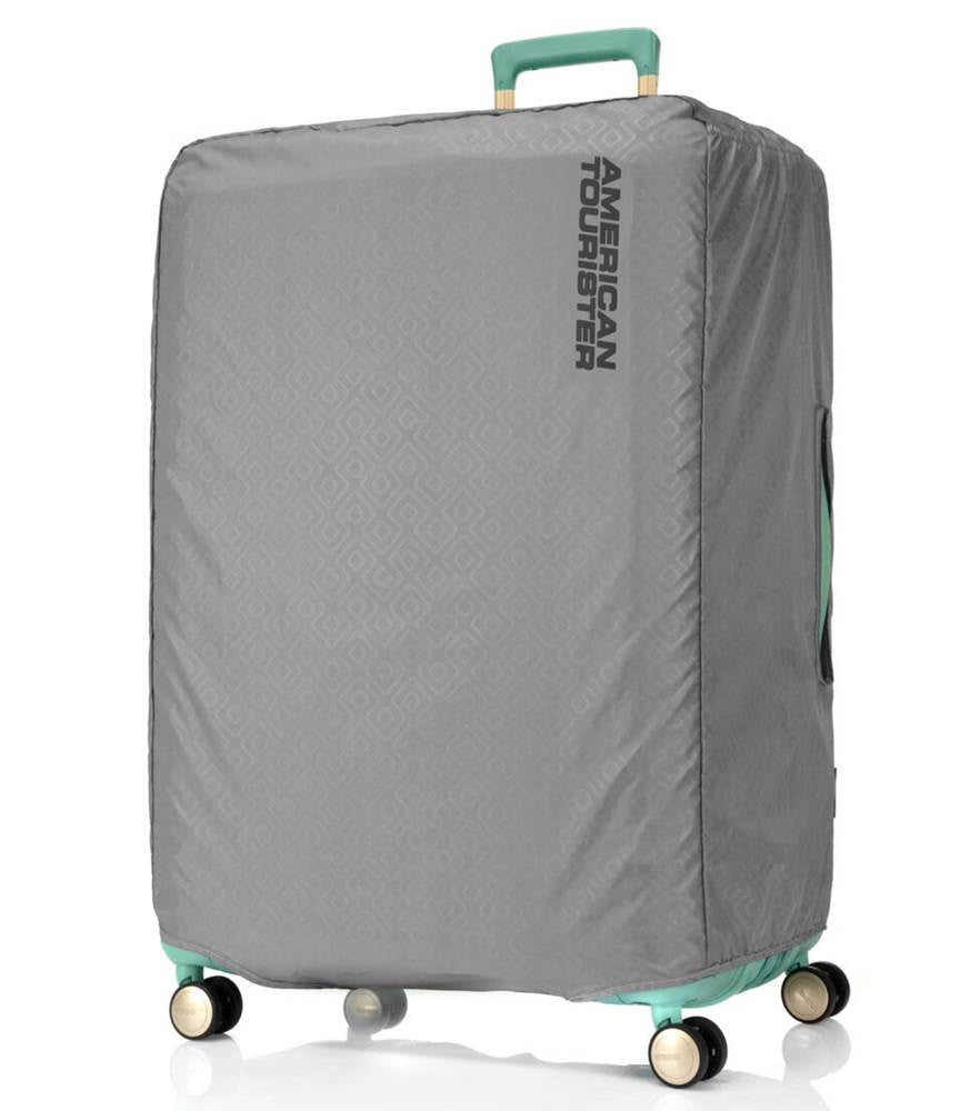 American Tourister Antimicrobial Luggage Cover - Medium (Fits 68 - 71 cm Cases) - Grey