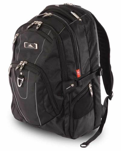 High Sierra Connect RFID Laptop Backpack