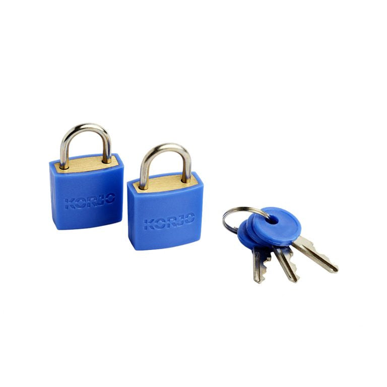 Korjo Luggage Locks – Colourful (x2)