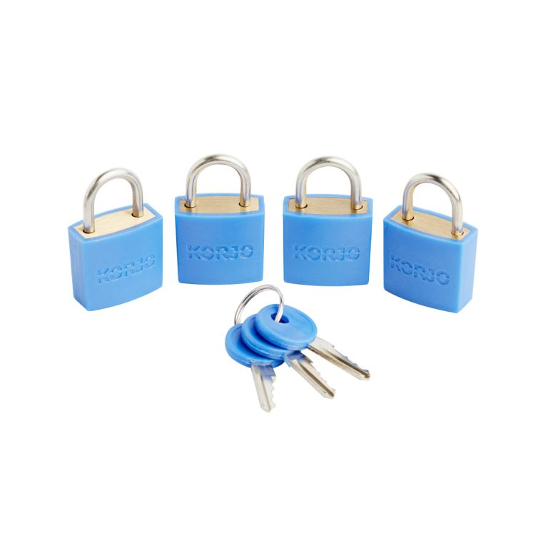 Korjo Luggage locks (4 pack)