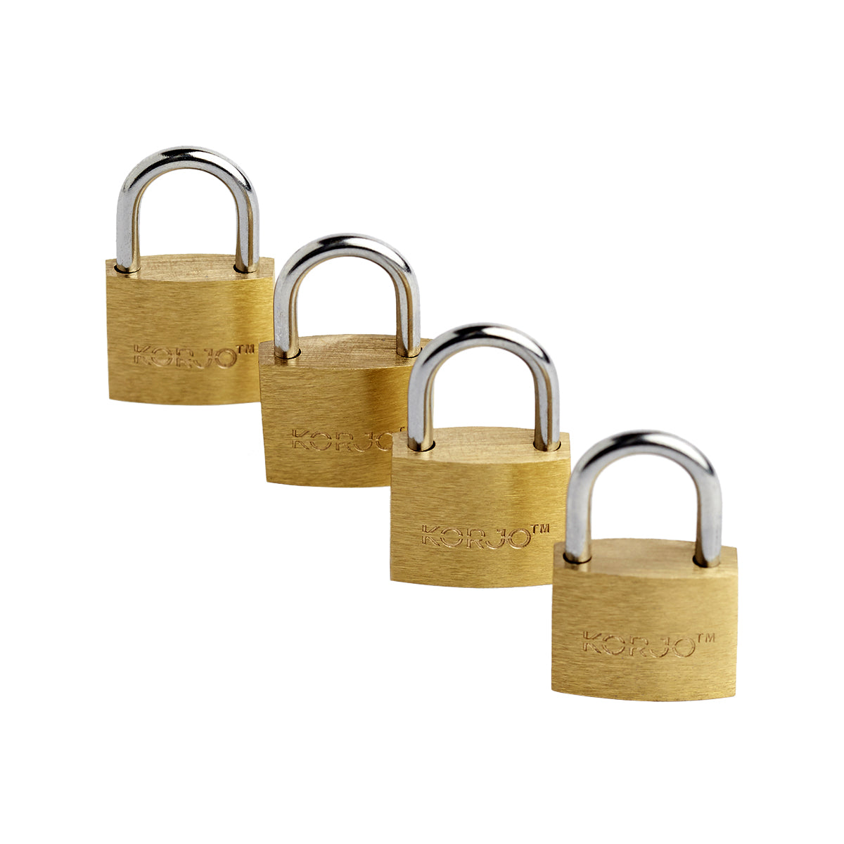 Korjo- Luggage locks (4 pack)