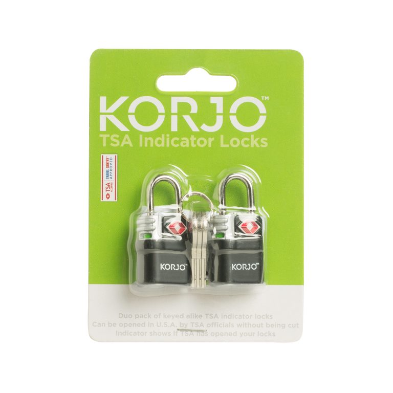 Korjo TSA Keyed indicator locks (x2)