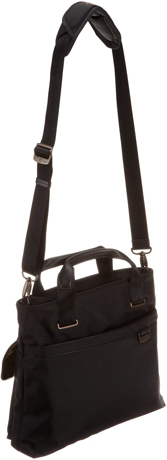 Tumi T-Tech By Tumi Data Yagi 2-Pocket Tote, Black, Medium