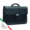 "Roncato Heritage 2 Compartment Briefcase with 15.6"" PC Holder"