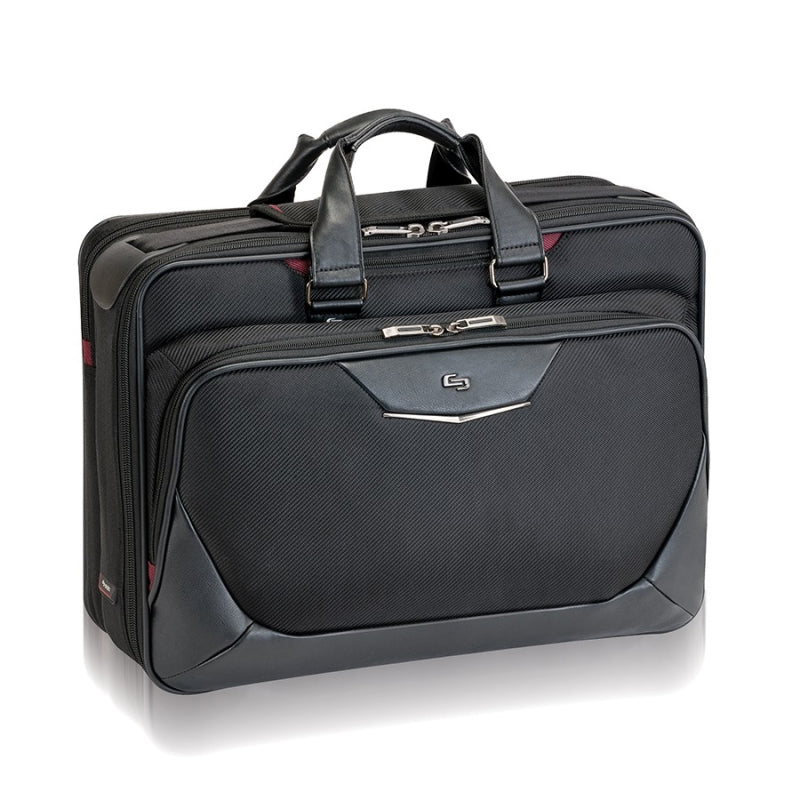 "Solo Executive 17.3"" Smart Strap® Briefcase"