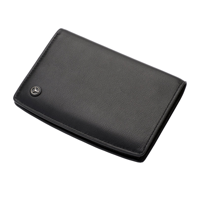 Mercedes Benz Tri-fold Travel Wallet - Large