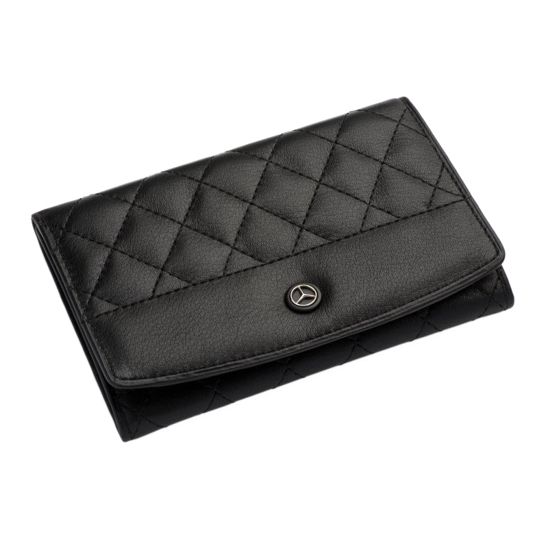 Mercedes Benz Card and Travel Wallet (Diamond pattern)
