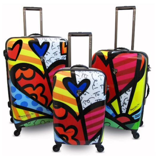 Heys Britto New Day Suitcase Set of 3