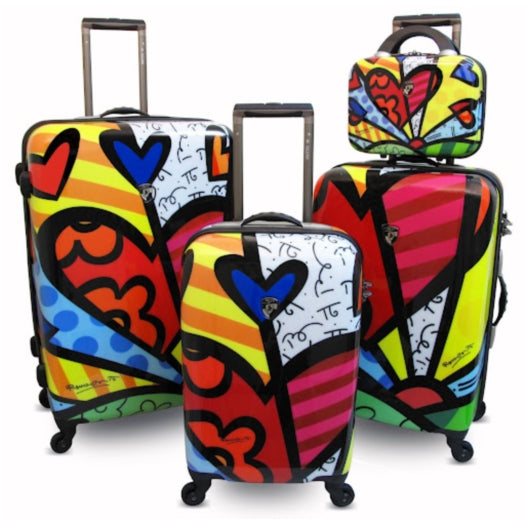Heys Britto New Day Suitcase Set of 4