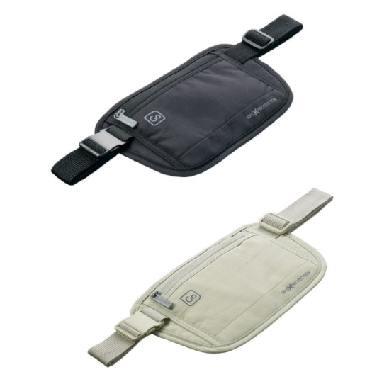 Go Travel RFID Money Belt - Assorted Colours