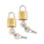 Samsonite Brass Key Lock Set of 2
