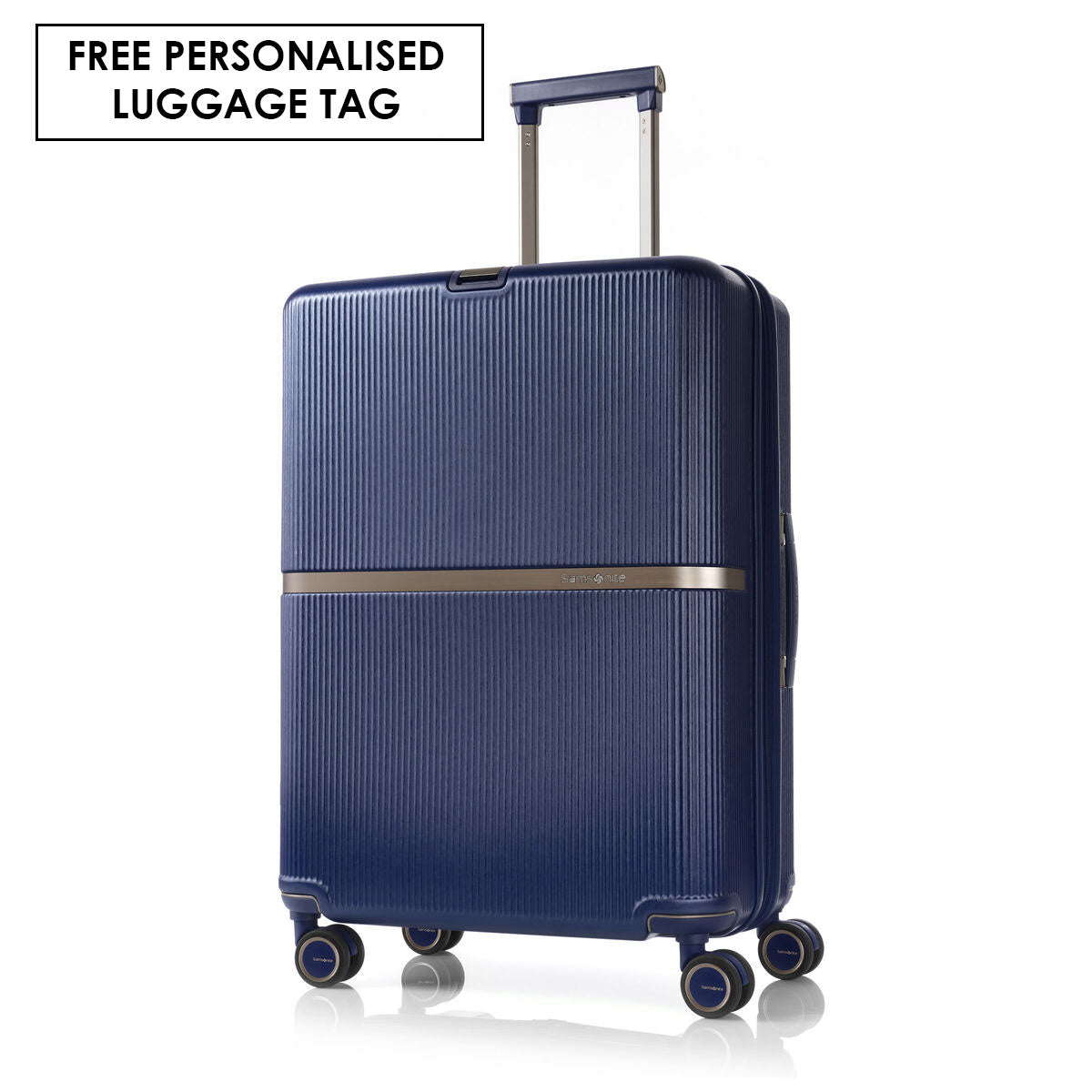 Samsonite Minter 69cm Expandable Medium Suitcase