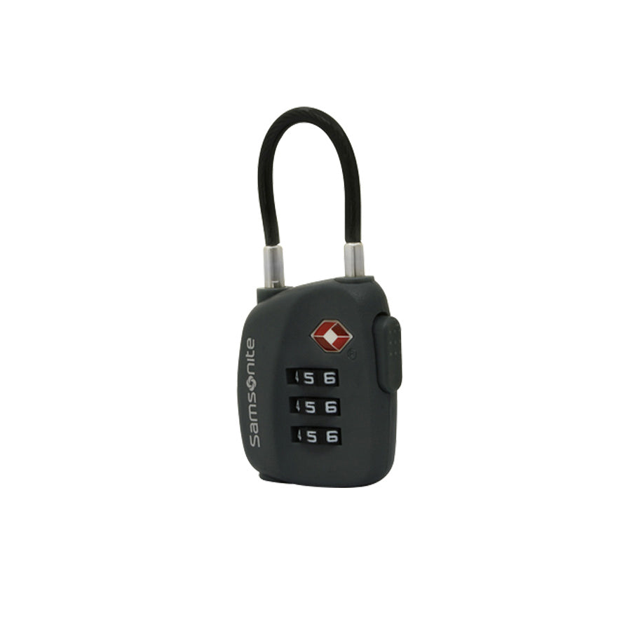 Samsonite TSA 3 Dial Cable Lock