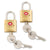 Samsonite TSA Brass Locks 2 Pack