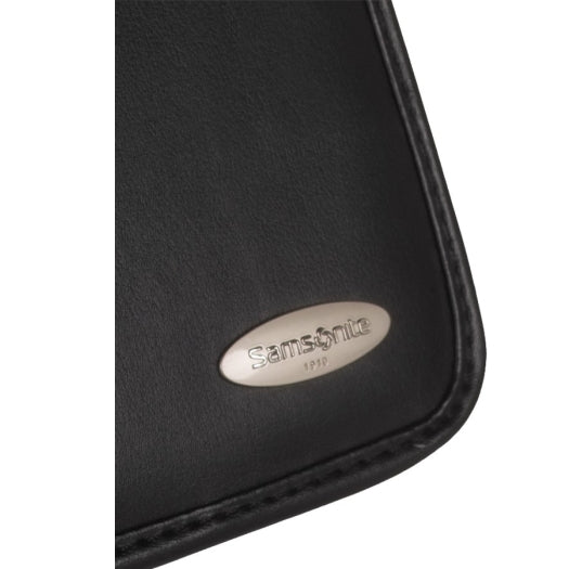Samsonite (SCM152) Non Leather A4 Zip Deluxe Compendium