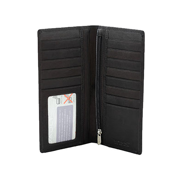 Vault RFID Men's Leather Breast Wallet