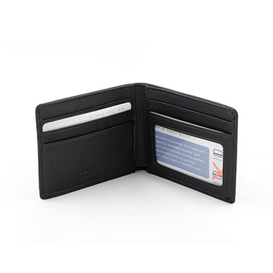 Vault RFID Men's Leather Micro Wallet