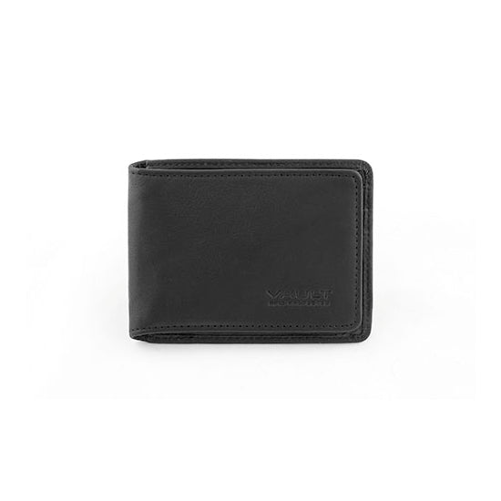 Vault RFID Men's Leather Slide In Credit Card Holder
